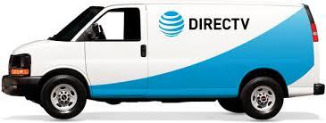 DIRECTV Installation Van