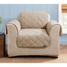 Sure Fit Sofa Cover Target by Sure Fit Reversible Suede Sherpa Chair Pet Cover 292847