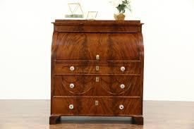 Antique Secretarys Desk by Biedermeier 1825 Antique Austrian Roll Top Secretary Desk Secret