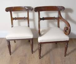 10 Ft English Regency Dining Table Set Chairs Chair For Sale