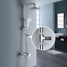 echte led display wasser dusche thermometer fluss selbst generierende strom wasser temperatur meter monitor baby bad pflege