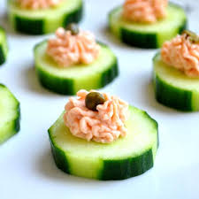 canape mousse smoked salmon mousse canapés recipe flavoursome delights