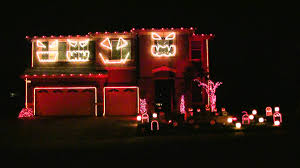Halloween Blow Molds 2013 by Halloween Light Show 2010 Hd Monster Mash Youtube