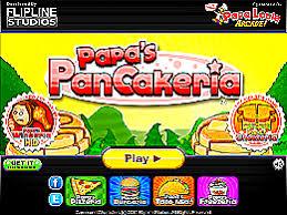 jeux de cuisine papa s papa s pancakeria un des jeux en ligne gratuit sur jeux jeu fr