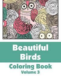 Beautiful Birds Coloring Book Volume 3 Art Filled Fun Books