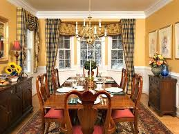 Dining Room Curtain Ideas Drapes Idea Window Treatment For Kitchen Classic Table