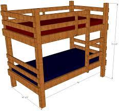 stackable bunk bed bunkbedbarn diy beds for dolls 3 msexta