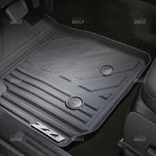 Chevy Traverse Floor Mats 2015 by Gm 22968487 Black Front All Weather Floor Mats W Z71 Logo For