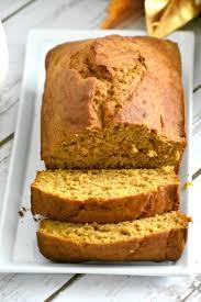 Libbys Spiced Pumpkin Bread Recipe by Pumpkin Bread Gluten Free Dairy Free Living Freely Gluten Free