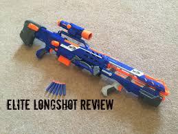 nerf n strike elite longshot cs 6 unboxing review range test