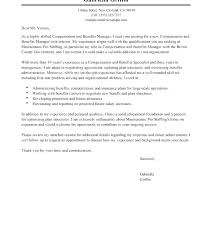 Cover Letter Examples For Human Resources To Hr