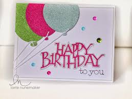 Birthday Card with Cricut Explore using the Pen Tool