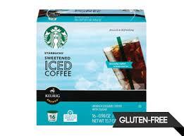 Keurig Starbucks Iced Coffee K Cup 16 Ct