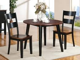 Dining Room Tables Black Drop Leaf Collection By House Set With Bench