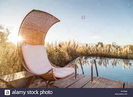 100 Tierra Atacama Chair By Swimming Pool At Hotel In San Pedro De