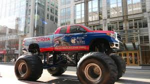 Toyota Tundra Monster Trucks Storm Into SEMA 2014 Toyota Tundra Wallpapers Wallpaper Blue New Pickup Truck For Sale In Calgary Pickup Trucks Top Choices Platinum Chicago 2013 Pinterest Limited Carsautomobiles Youtube Pictures Information Specs 4x4 Review Photo Gallery Autoblog Recall And 27liter Tacoma Possible Engine Valve 2018 Toyota Truck Models Elegant New Luxury 4runner Review Notes Autoweek 2015 Release Date
