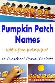 Pumpkin Books For Toddlers by Preschool Powol Packets