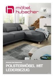 produkteinformation polstermöbel mit lederbezug by möbel