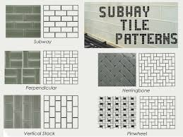 Subway Tiles For Backsplash by Subway Tile Patterns Ideas Best 227a077636a3ef8dcaf20c375e585165