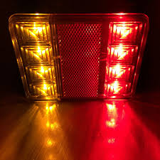 2X 12V 8LED Carvan Van Truck Lorry Trailer Rear Tail Light Stop ... 2x Led Rear Tail Lights Truck Trailer Camper Caravan Bus Lorry Van 0708 Dodge Ram Pickup Euro Red Clear 111 Round And W Builtin Reflector 4 Inch Led Whosale 2018 8 Car Light Warning Rear Lamps Waterproof Amazonca Trucklite 44022r Super 44 Stopturntail Kit 42 2 Pcs With License Plate Lamp Durable Lights Ucktrailer Circular Stoptail Lamp 1030v 1 Pair 12v Turn Signal 20fordf150taillight The Fast Lane