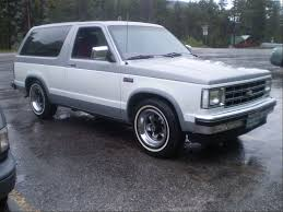 1985 Chevrolet S10 Blazer. I Was A Huge Fan Of The Original ...