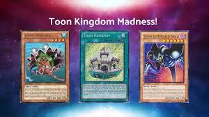 toon kingdom deck madness yu gi oh duel links youtube
