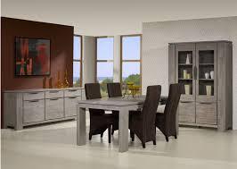salle à manger contemporaine chêne gris iberia salle à manger