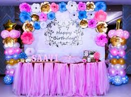 6 Charming Paper Craft Decorations For Childs Birthday Party In Regarding Ideas Decoration