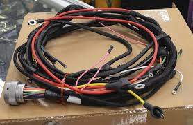 100 Semi Truck Engine Am General M915a1 Military Tractor Wire Harness M