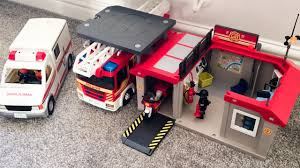Playmobil Exclusive City Action Take Along Fire Station - YouTube Playmobil Take Along Fire Station Toysrus Child Toy 5337 City Action Airport Engine With Lights Trucks For Children Kids With Tomica Voov Ladder Unit And Sound 5362 Playmobil Canada Rescue Playset Walmart Amazoncom Toys Games Ambulance Fire Truck Editorial Stock Photo Image Of Department Truck Best 2018 Pmb5363 Ebay Peters Kensington