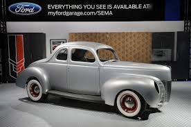 1940 Ford Coupe Body Shell: SEMA 2012 Photo Gallery - Autoblog Craigslist Find Restored 1940 Ford Panel Delivery Truck 01947 Pickup Vhx Gauge Instruments Dakota Digital Vhx40f A Different Point Of View Hot Rod Network 100 Old Doors Motor Company Timeline Trucks The Co Was In And Classic Driving Impression Business Coupe Hemmings Daily Pictures