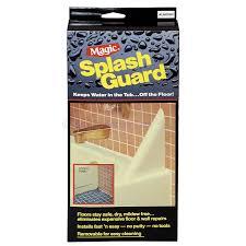 Splash Guard For Bathtub by Bath Splash Guard Bathroom White Colour Hard To Find Magic Usa