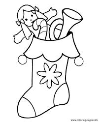 Print Printable S Christmas Stocking For Kidsd326 Coloring Pages