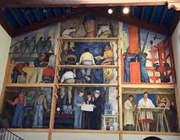 diego rivera mural special picture of san francisco