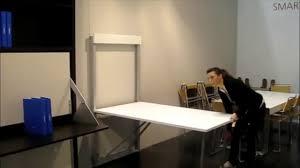 table murale forli escamotable et rabattable par square deco