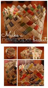 Creation Squad Craft Work With Newspaper Basket Step By