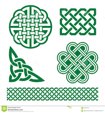 celtic green knots braids and patterns st patrick s day in