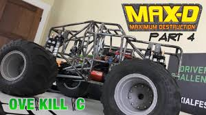 MAX-D REPLICA PROJECT | PT 4 | Electronics | Custom Monster Truck ... Monster Truck For Beamng Drive Home Build Solid Axles Monster Truck Using 18 Transmission R Time Flys Trucks Wiki Fandom Powered By Wikia Tube Chassis Mutt Project Smt10 Maxd Jam 110 4wd Rtr Axial Budhatrains Bigfoot Super Crush Sunday Rc Event Hlights Review Carisma Gt24t Tkr5603 Mt410 110th Electric 44 Pro Dialled Related New Samson Buildup Pics