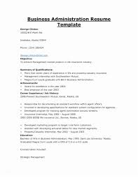 College Administration Sample Resume Business Template Of 33