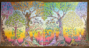 Enchanted Forest Dawn Stage By La Artistino