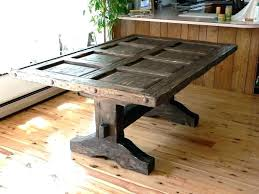 Distressed Wood Table Furniture Dining Room S Rustic Round