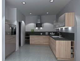 nolte u form küche grau