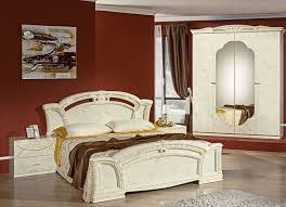 schlafzimmerset 4 teilig in verschiedenen ausführungen mit 4 türigem kleiderschrank ohne aufbauservice creme