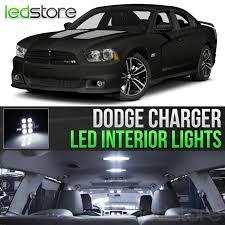 2011-2014 Dodge Charger White Interior LED Lights Kit Package | EBay