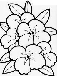 Beautiful Picture Of Flower Coloring Page