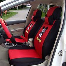 Betty Boop Seat Covers And Floor Mats by Mickey Mouse Seat Covers Ebay