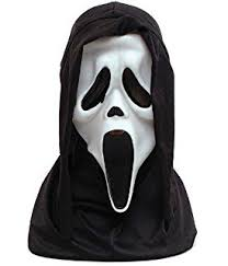 Scary Halloween Half Masks by Skull Half Mask Scary Halloween Rubber Fancy Dress With Hair