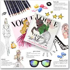 VOGUE COLORS A To Z Coloring Book