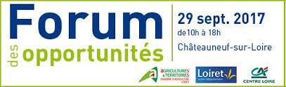 chambre d agriculture du loiret des opportunités à la clé le 29 septembre à chateauneuf su loire