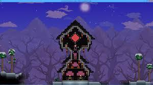 Terraria Halloween Event by Dark Wizard Tower I Wish There Were A Dark Wizard Npc Terraria